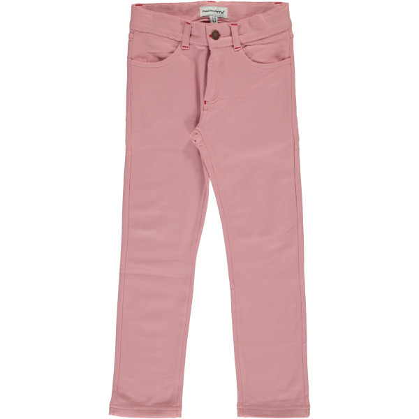 Maxomorra Softpants Sweat Dusty Pink | Bio Kinderkleidung bei Das bunte Chamäleon in Bamberg und online