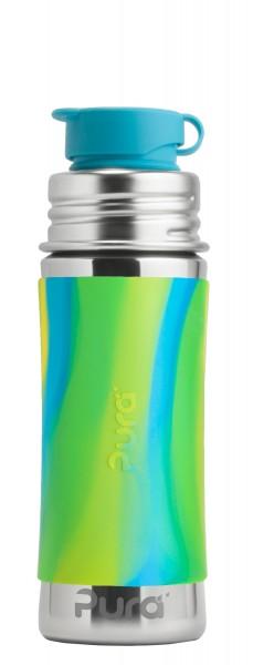 Purakiki Edelstahltrinkflasche | plastikfreie Sportflasche