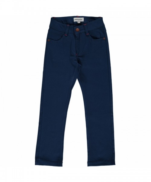 Maxomorra Jeans Pants Twill, dark blue