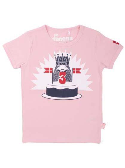 Danefae Geburtstags-T-Shirt babypink | Skandinavische Kinderkleidung bei Das bubunte Chamäleon in Bamberg und online kaufen