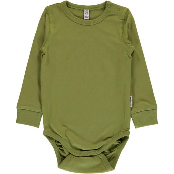 Maxomorra Body Apple Green | Bio-Kinderkleidung von Maxomorra bei Das bunte Chamäleon online kaufen