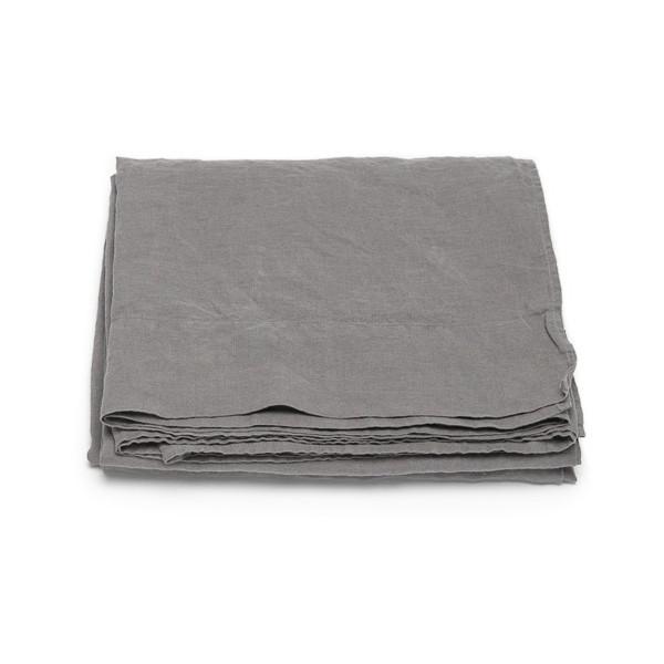 Tischläufer Leinen Stone Washed Steel Grey | Natürliches für Zuhause bei Das