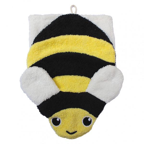 Fürnis Waschlappen Biene | Kindersachen bei Das bunte Chamäleon in Bamberg und online