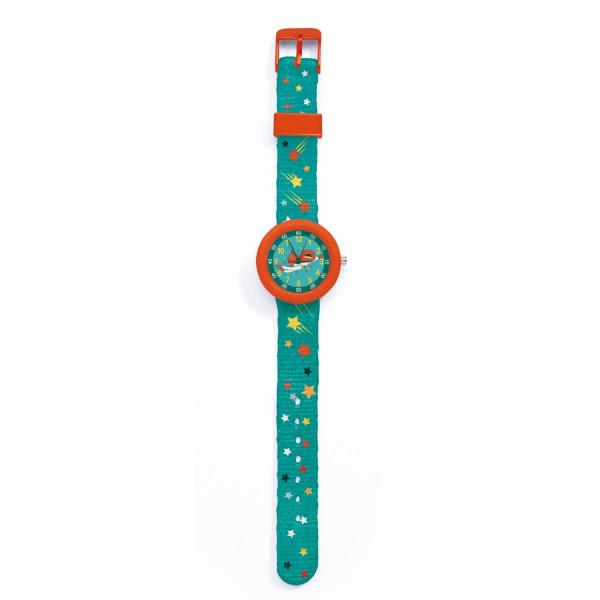 Djeco Kinder-Armbanduhr Superheld | Kinderuhren bei Das bunte Chamäleon in Bamberg und onlien