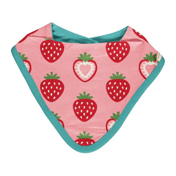 Maxomorra Babyhalstuch Erdbeeren | Maxomorra Kinderkleidung bei Das bunte Chamäleon in Bamberg und online