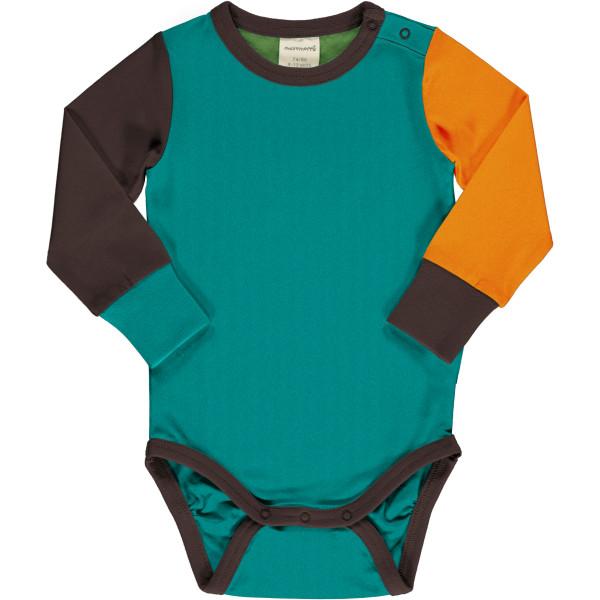 Maxomorra Body Block Lagoon | Bio-Kinderkleidung von Maxomorra bei Das bunte Chamäleon online kaufen
