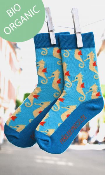 Frl. Prusselise Kindersocken Seepferdchen | Bunte Socken bei Das bunte Chamäleon in Bamberg und online
