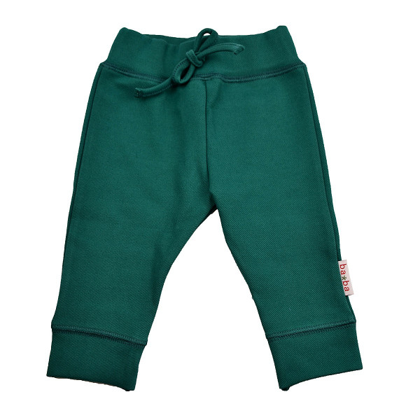 Baba Babywear Babyhose, petrol   Bio-Kinderkleidung von Baba Babywear bei Das bunte Chamäleon in Bamberg und online