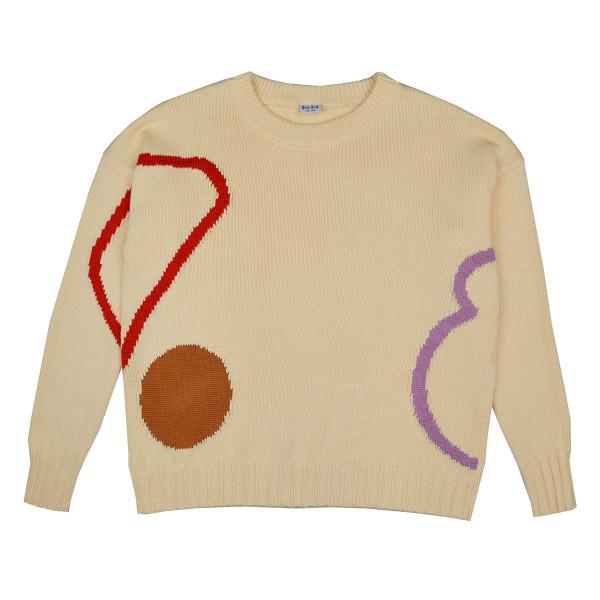 Baba Babywear Strickpulli | Bio-Kinderkleidung von Baba Babywear bei Das bunte Chamäleon in Bamberg und online