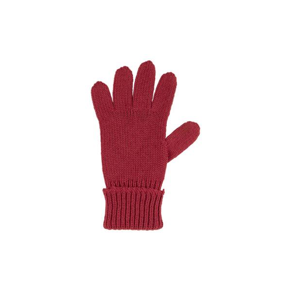 Pure Pure Kinder Strick-Handschuhe Bordeaux   Kinderhandschuhe aus Wolle bei Das bunte Chamäleon in Bamberg und online kaufen
