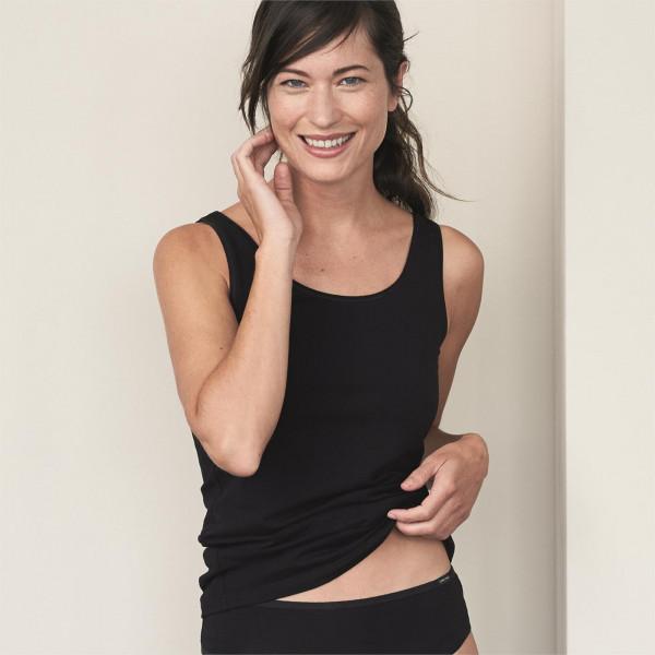 Living Crafts Damen Top schwarz | Naturmode für Damen bei Das bunte Chamäleon in Bamberg und online kaufen