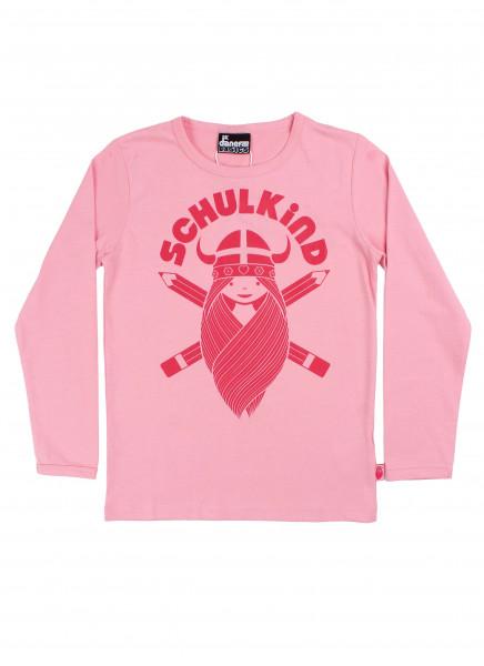Danefae Schulkind-Shirt Light Pink   Skandinavische Kinderkleidung bei Das bunte Chamälein Bamberg kaufen