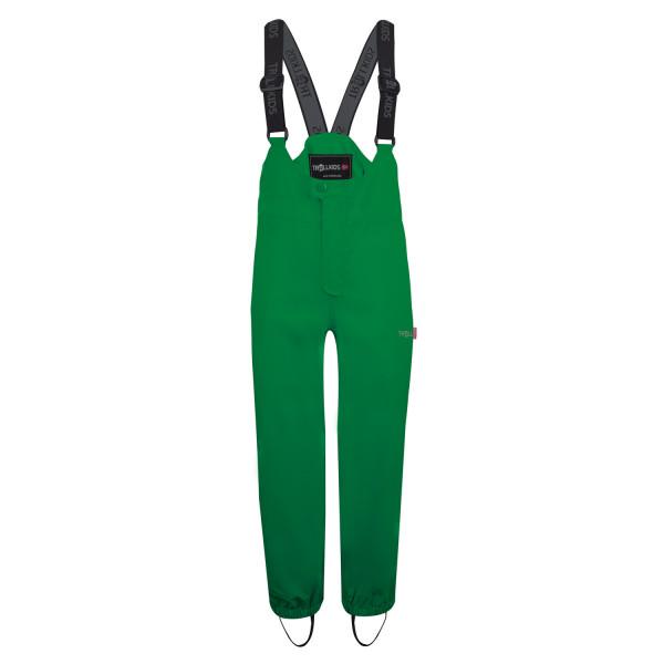 Trollkids Regenhose Matschhose Odda Pant dunkelgrün | Kinder-Outdoorkleidung bei Das bunte Chamäleon in Bamberg und online