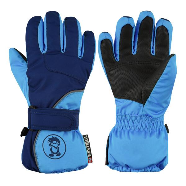 Trollkids Schneehandschuhe Troll Glove, navy/blau | Outdoorbekleidung bei Das bunte Chamäleon in Bamberg und online