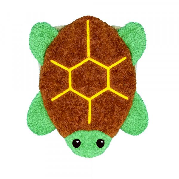 Fürnis Waschlappen Schildkröte | Kindersachen bei Das bunte Chamäleon in Bamberg und online