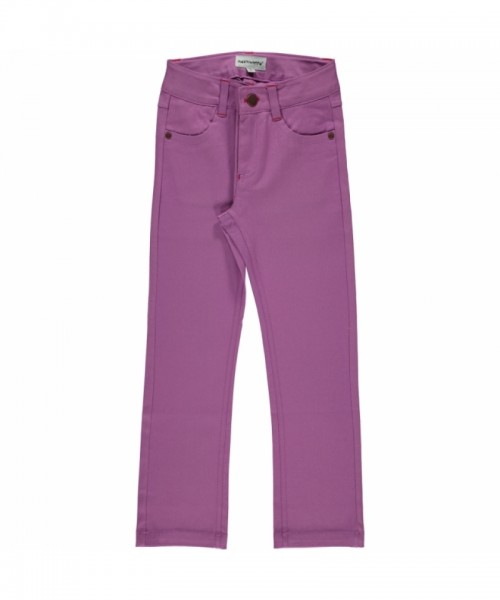 Maxomorra Jeans Pants Twill, light purple - Onlineshop für Kinderkleidung