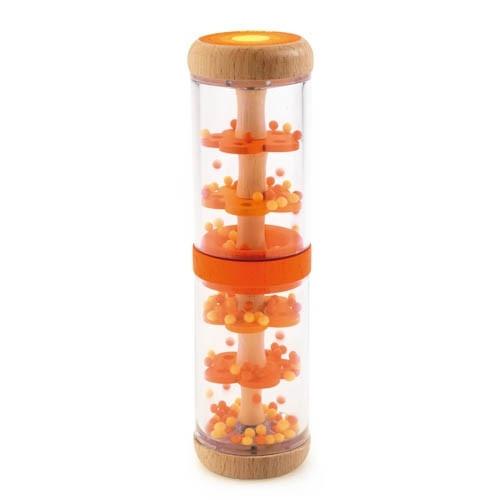 Djeco Regenmacher orange | Babyspielzeug bei Das bunte Chamäleon in Bamberg und onlien