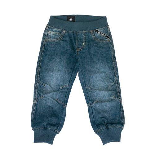 Villervalla Jeans mit Strickbündchen, midnight wash | Bio-Kindermode bei Das bunte Chamäleon in Bamberg und online