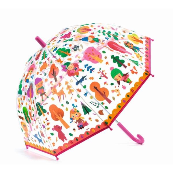 Djeco Kinder-Regenschirm Wald | Kinderregenschirme bei Das bunte Chamäleon in Bamberg und onlien