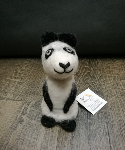 Pandabär, Wollfilz   Nachhaltige Kindersachen bei Das bunte Chamäleon in Bamberg und online