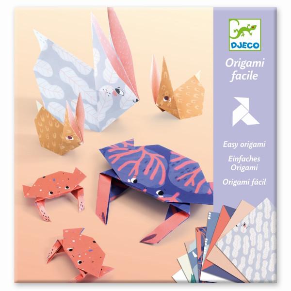 Djeco Bastelset Origami Tierfamilien | Origami für Kinder bei Das bunte Chamäleon in Bamberg und online
