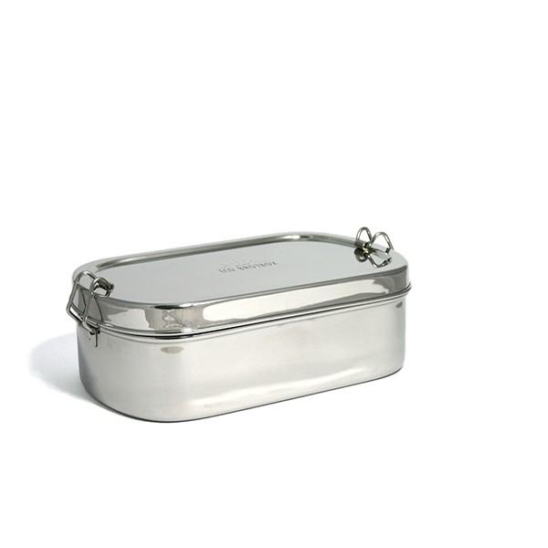 Eco Brotbox Goodies Box | 100% Edelstahl, kein Plastik