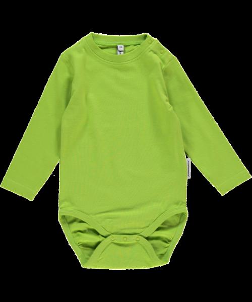Maxomorra Body Langarm, bright green
