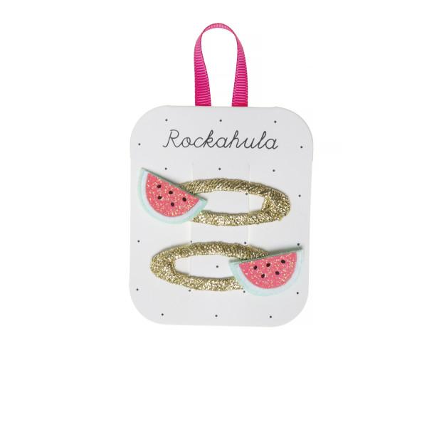 Rockahula Kids Haarklammern Melone | Kinderhaarschmuck bei Das bunte Chamäleon in Bamberg und online