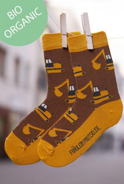 Frl. Prusselise Kindersocken Bagger   Bunte Socken bei Das bunte Chamäleon in Bamberg und online
