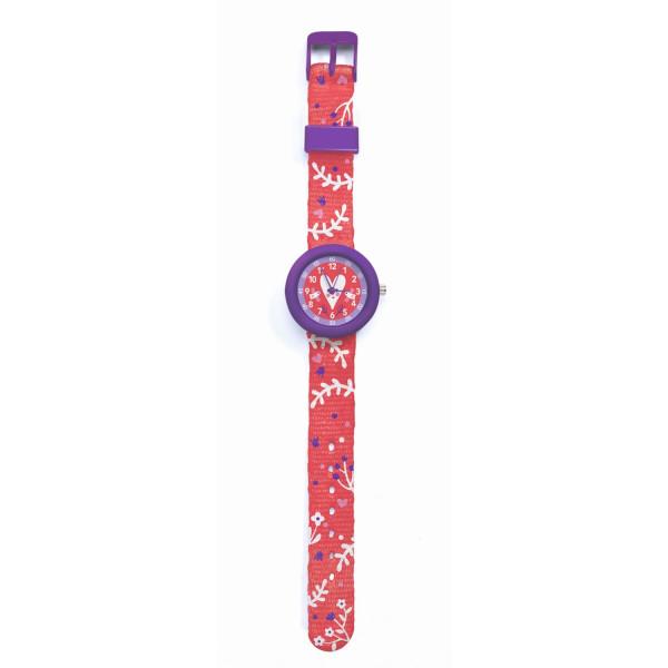Djeco Kinder-Armbanduhr Herz | Kinderuhren bei Das bunte Chamäleon in Bamberg und onlien