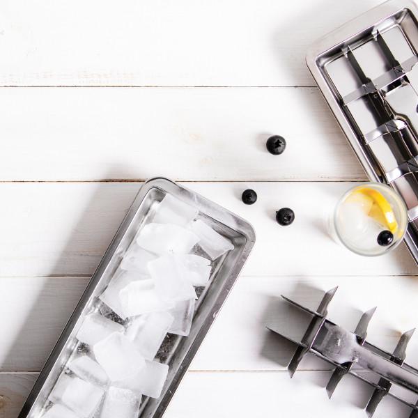 ECO Ice Cuber Eiswürfelbereiter aus Edelstahl | ECO Brotbox bei Das bunte Chamäleon in Bamberg und online