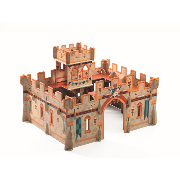Djeco Große Ritterburg | Spielzeug für Kinder bei Das bunte Chamäleon in Bamberg und online