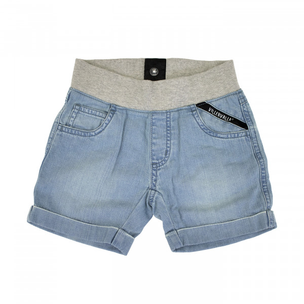 Villervalla Shorts Soft Denim light wash | Bio-Kindermode bei Das bunte Chamäleon in Ba