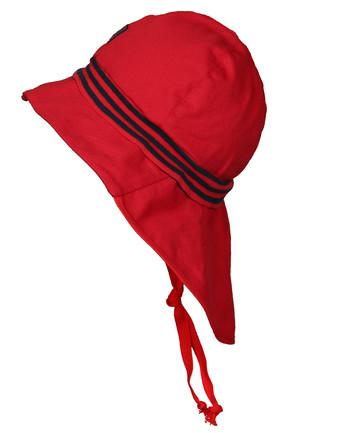 Pickapooh Feuerwehr Sonnenhut Strick, Rot | Sonnenhüte aus Bio-Baumwolle bei Das bunte Chamäleon online kaufen