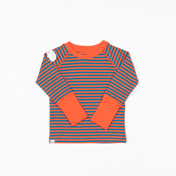 Alba of Denmark Langarmshirt Spicy Orange Magic | Dänische Kinderkleidung von Albababy bei Das bunte Chamäleon in Bamberg und online