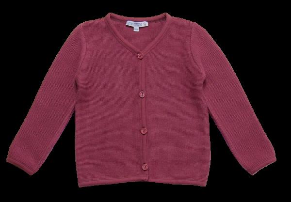 Enfant Terrible Strickjacke Malve | Bio-Kinderkleidung bei Das bunte Chamäleon in Bamberg und online kaufen