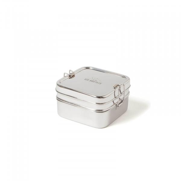 Eco Brotbox Cube Box XL aus Edelstahl   Edelstahlbrotdosen bei Das bunte Chamäleon in Bamberg und online kaufen