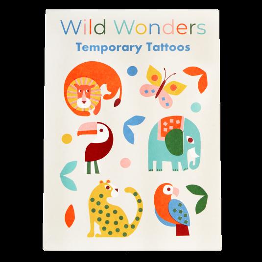 Rex London Tattoos Wildtiere | Fantastische Kindersachen bei Das bunte Chamäleon in Bamberg und online kaufen