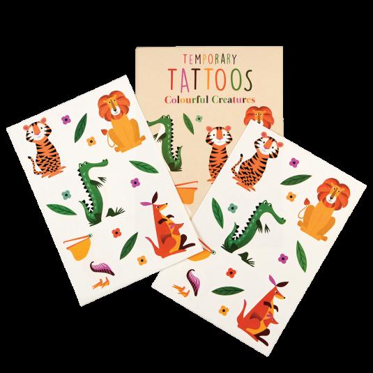 Rex London Tattoos Bunte Tiere | Fantastische Kindersachen bei Das bunte Chamäleon in Bamberg und online kaufen