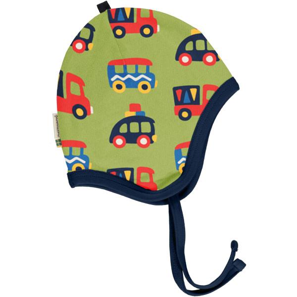Maxomorra Babymütze Colourful Cars | Bio Kinderkleidung bei Das bunte Chamäleon in Bamberg und online