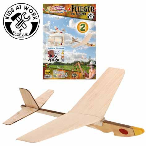 Corvus Balsaflieger 2  | Werkzeug für Kinder bei Das bunte Chamäleon in Bamberg und online