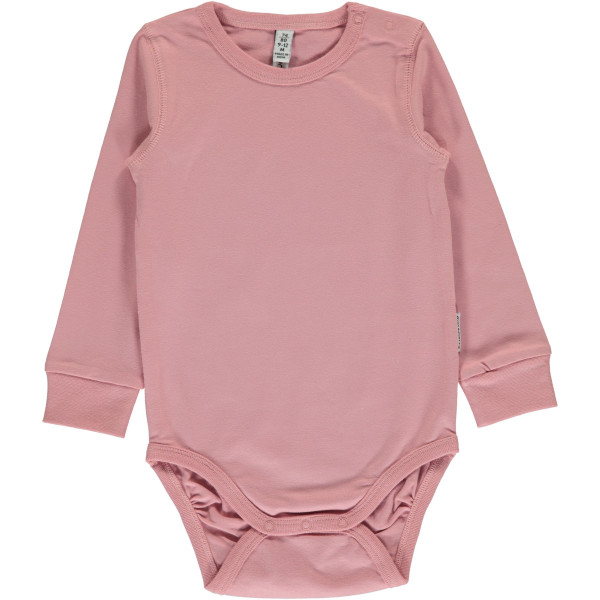 Maxomorra Body Dusty Pink | Bio-Kinderkleidung von Maxomorra bei Das bunte Chamäleon online kaufen