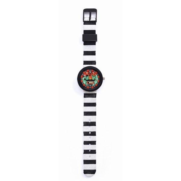 Djeco Kinder-Armbanduhr Pirat | Kinderuhren bei Das bunte Chamäleon in Bamberg und onlien