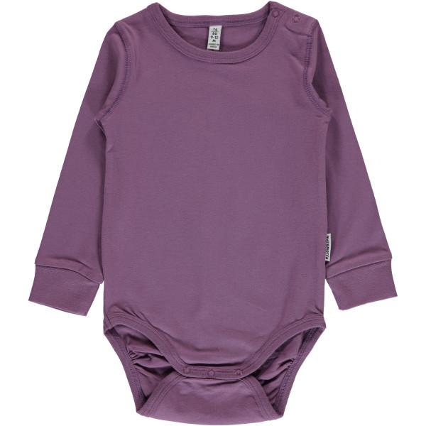 Maxomorra Body Dusty Purple | Bio-Kinderkleidung von Maxomorra bei Das bunte Chamäleon online kaufen